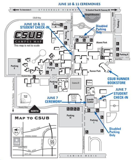 Campus Map | California State University, Bakersfield