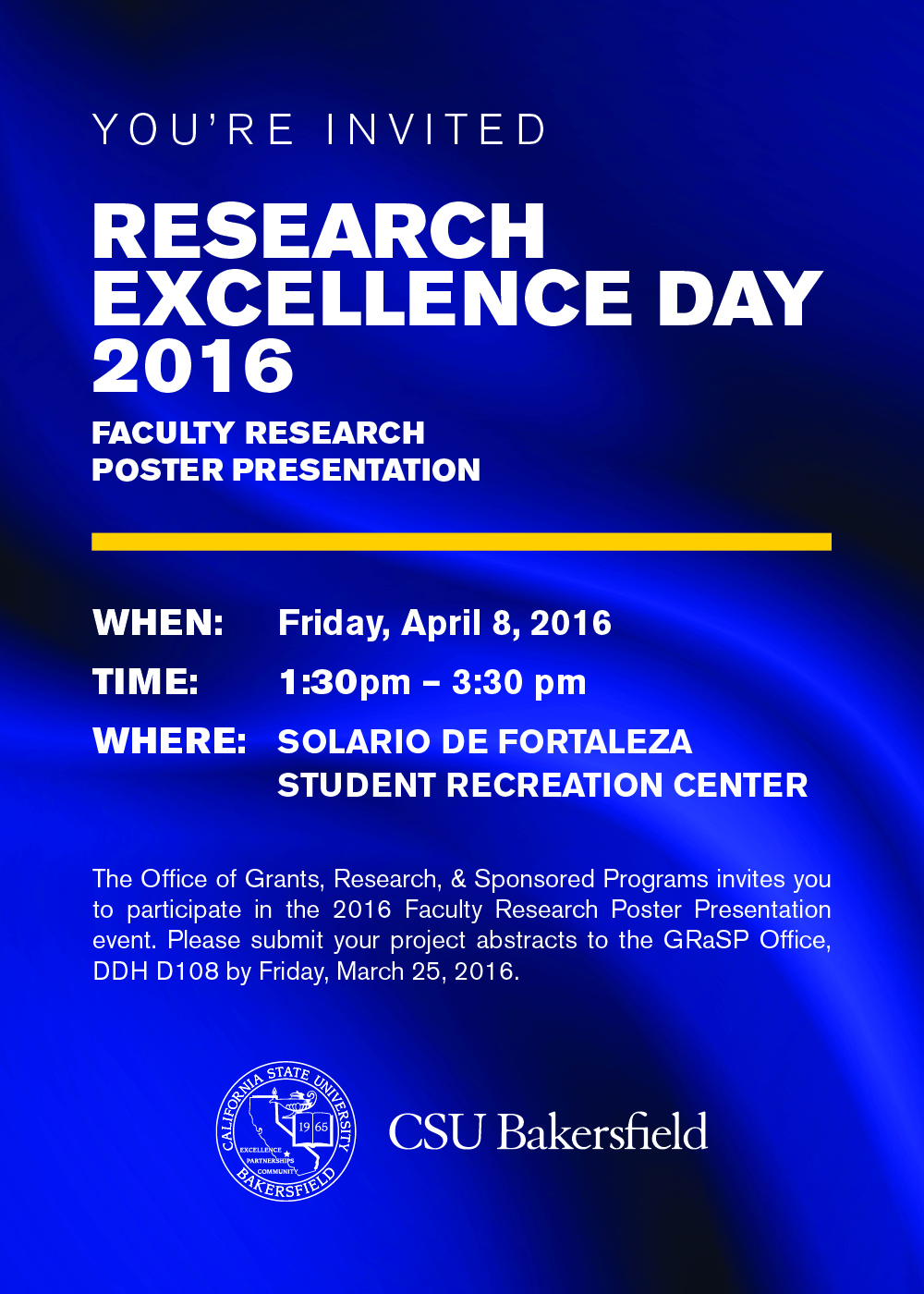 2016 faculty research poster presentation