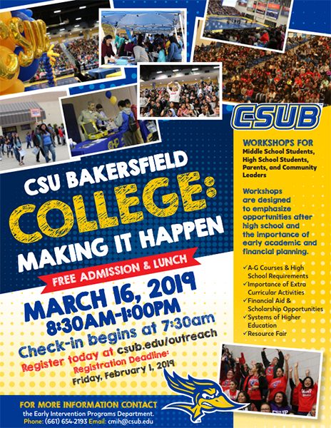 College: Making It Happen! | California State University